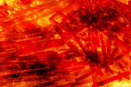 wood fire: art fire burning wood background