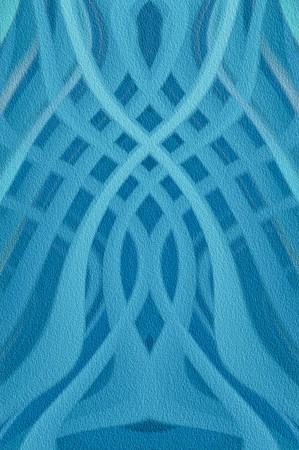 Kunst grunge blauwe abstracte patroon illustratie achtergrond Stockfoto - 64264205