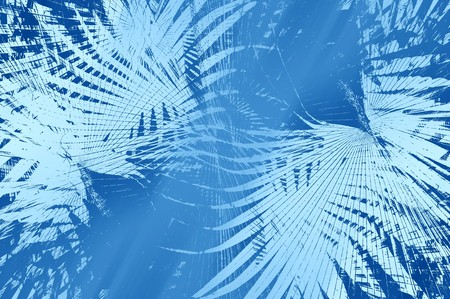 kunst blauwe abstracte patroon illustratie achtergrond