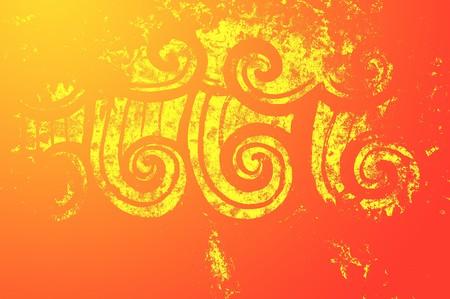 art grunge kleur abstract patroon illustratie achtergrond