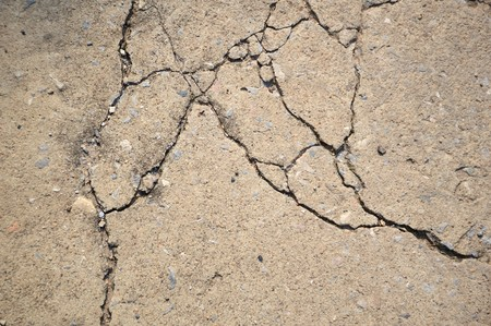 crack: crack cement floor texture Stock Photo