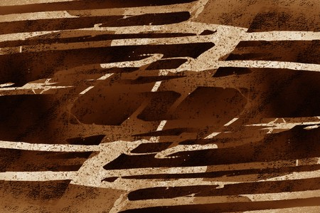 Kunst grunge bruin abstracte patroon illustratie achtergrond Stockfoto - 69238645
