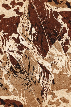 Kunst grunge bruin abstracte patroon illustratie achtergrond Stockfoto - 68623108