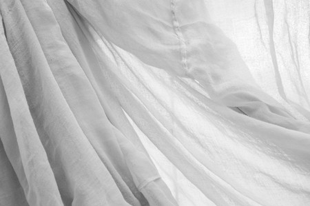 白い布のテクスチャ