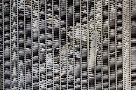 soot: old radiator grille texture