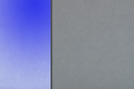 streaked: art blue color on gray background Stock Photo