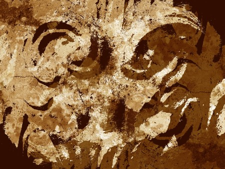 art grunge brown abstract pattern illustration background