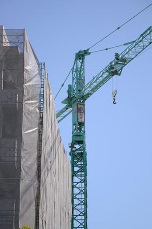 construction site in Bangkok Thailand