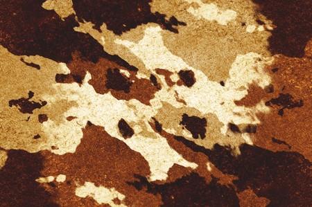 Kunst grunge bruin abstracte patroon illustratie achtergrond Stockfoto - 69780480