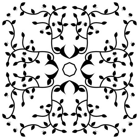 abstract art: art abstract pattern illustration background Stock Photo