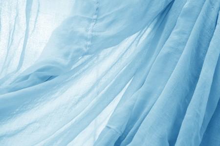 blue fabric texture Фото со стока