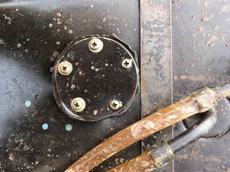 old fuel cap on tuning car