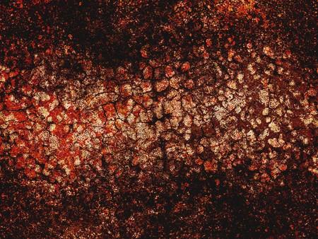 Kunst grunge bruin abstracte patroon illustratie achtergrond Stockfoto - 77227588