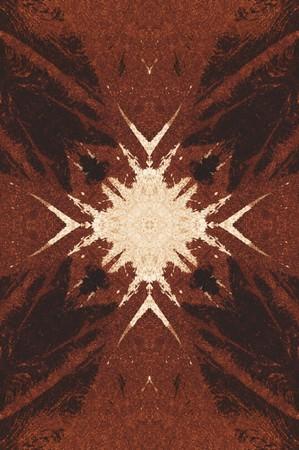 Kunst grunge bruin abstracte patroon illustratie achtergrond Stockfoto - 73378744