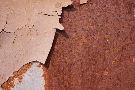 古い壊れた車壁のテクスチャ 写真素材