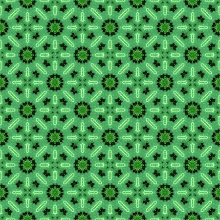 art green seamless abstract pattern illustration background