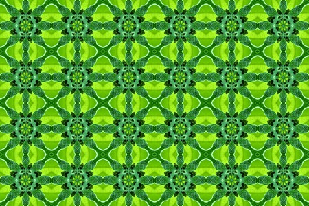 art green color seamless abstract pattern illustration background Stock fotó