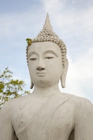 buddha statue in Ayutthaya temple at Thailand