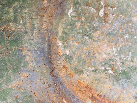 古い錆びた壁の質感