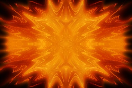 fire abstract illustration background Stock Photo