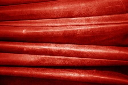 old red umbrella fabric texture