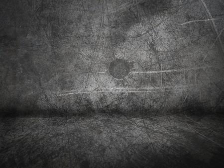 Dark concrete room background