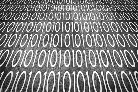 Kunst Grunge Schwarz-Weiß-Nummer abstrakte Muster Illustration Hintergrund Standard-Bild - 85625844