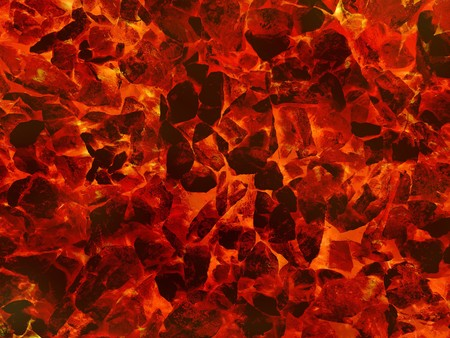 art hot lava fire abstract pattern illustration background Stock Illustration - 85179116