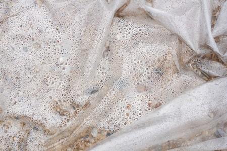 dew in plastic bag texture