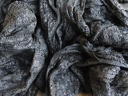 Black shading net texture Фото со стока