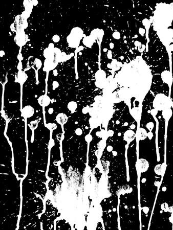art grunge black and white abstract pattern illustration background Reklamní fotografie - 90948205