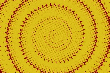 Art yellow color abstract pattern illustration background