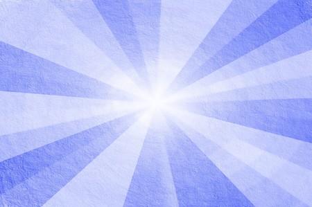 kunst blauwe stralen kleur abstracte patroon afbeelding achtergrond Stockfoto