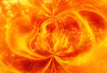 fire abstract pattern background