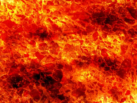 Art hot lava fire abstract pattern illustration background Stock Photo