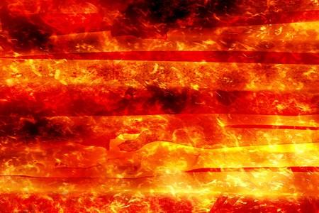 art fire burning wood background