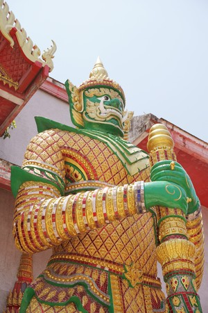 Giant statue in public Thailand