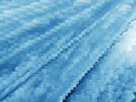 art color blocks abstract pattern illustration background Stock Photo