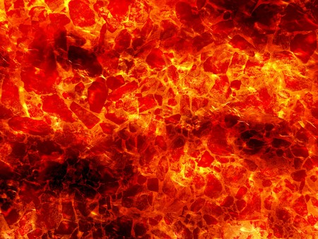 Art hot lava fire abstract pattern illustration background Stock Photo