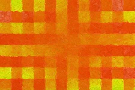 art orange color abstract pattern illustration background Stock Photo
