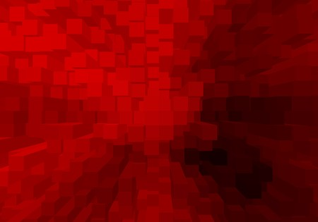 red color block abstract pattern illustration background