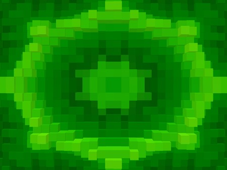 green color block abstract pattern illustration background