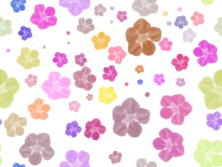 art flower color pattern abstract illustration background Stock Photo