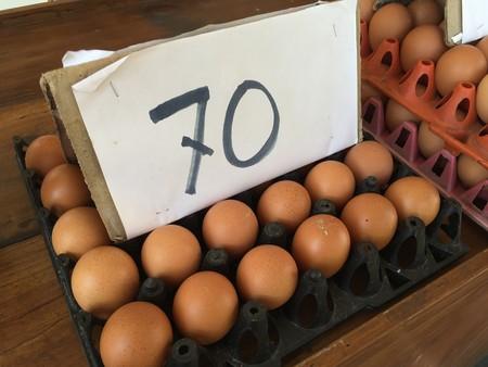 eggs in market