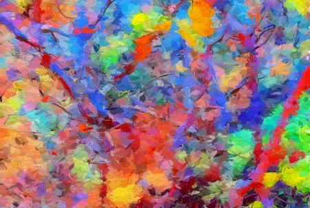 art beautiful color abstract pattern illustration background Banco de Imagens - 122402007
