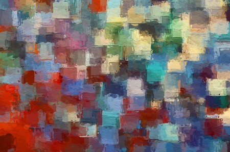 art beautiful color abstract pattern illustration background Banco de Imagens - 122402194