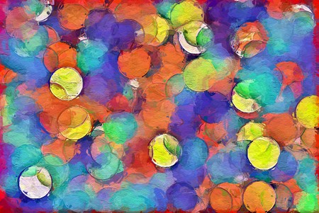 art beautiful color abstract pattern illustration background Banco de Imagens - 122402541