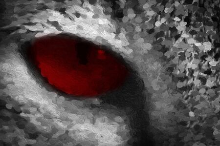 cat red eyes pattern background