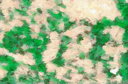 green color pattern background