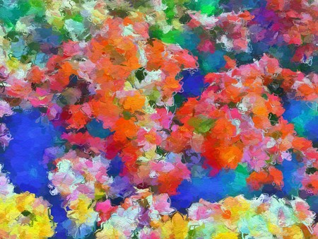 art beautiful color pattern background